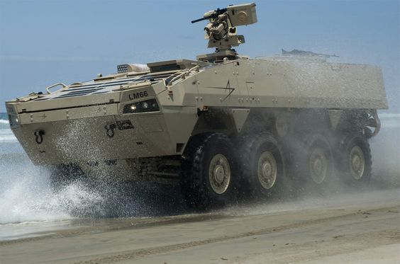 Havoc 8x8 Armored Modular Vehicle