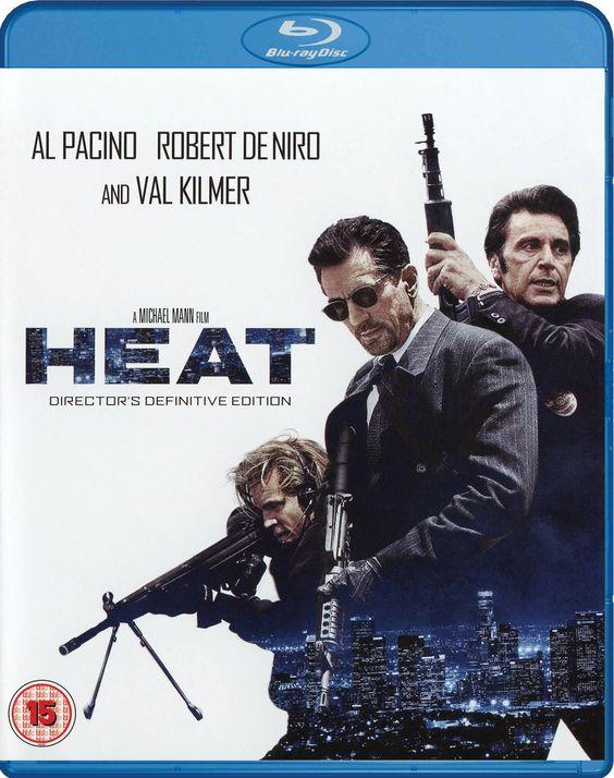 Heat Blu-ray Director's Definitive Edition | Remastered, Region free