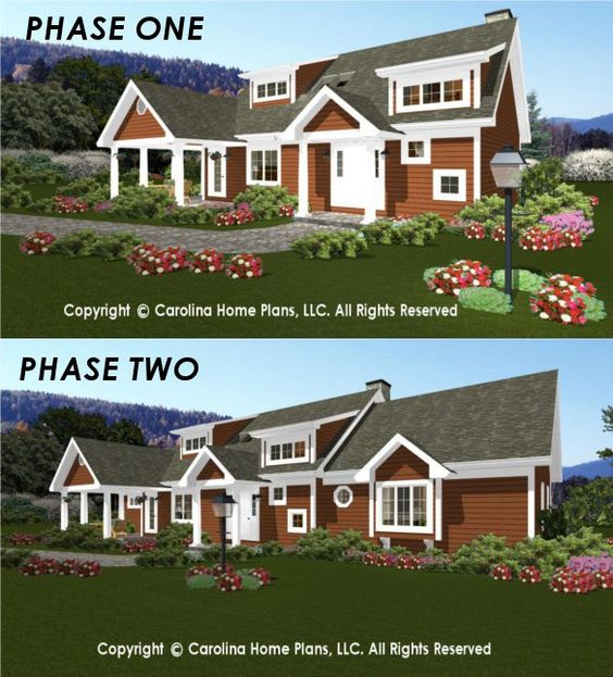 Flexible house plans from carolina home plans build in for Flexible house plans