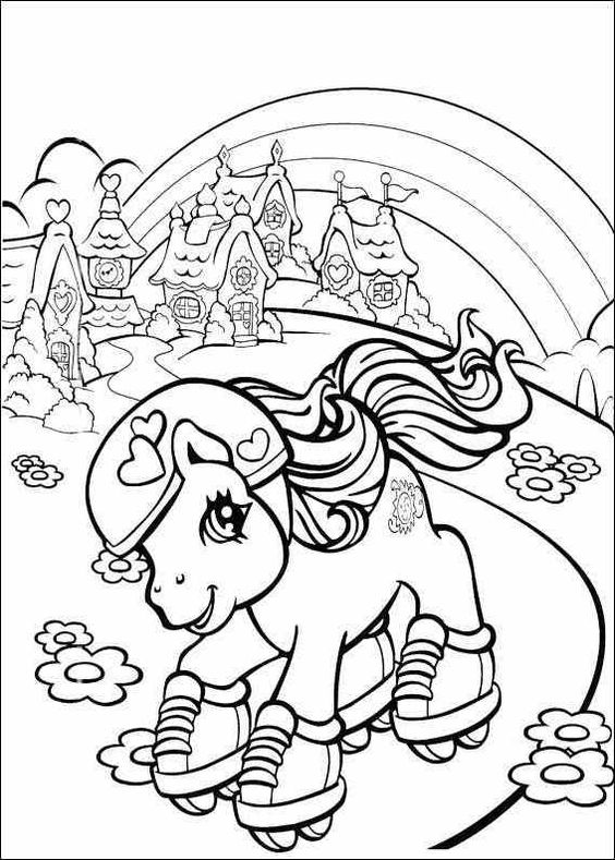 My Little Pony Coloring Pages Sweetie Belle : Sweetie belle coloring pages and on pinterest