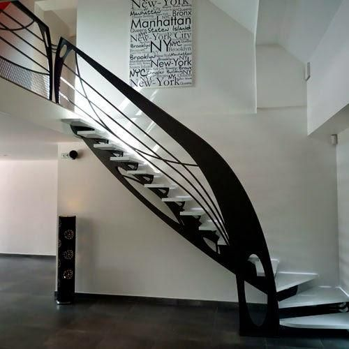 moderna escalera original