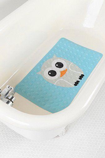 UrbanOutfitters.com > Owl Rubber Bath Mat