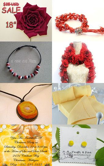 Fabulous Gifts! by Vicki Abrew on Etsy--Pinned with TreasuryPin.com