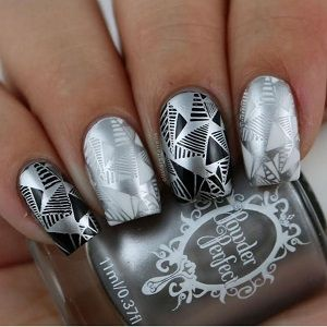 Powder Perfect- Stamping Polish - Silver