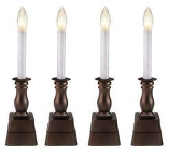 Set Of 4 Battery Operated Window Candles By Bethlehem