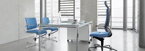 InTouch - Dauphin produziert ergonomische Sitzlösungen für das Büro.