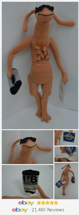 "Universal Studios Men In Black Alien Attack Worm Plush Stuffed New 14"""