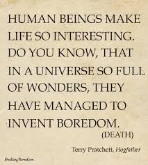 Image result for Terry Pratchett Writing Quotes