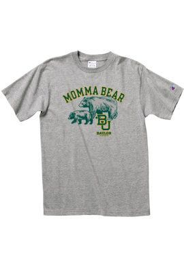 "Not too early to start thinking about Mother's Day... // ""Momma Bear"" t-shirt, from #Baylor Bookstore"