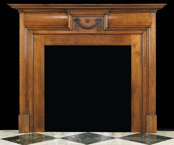 Small English Georgian Oak Fireplace Mantel Georgian Fireplaces Pinterest English Mantels