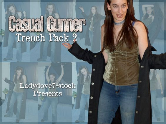 Casual Gunner Trench PACK 2 by themuseslibrary.deviantart.com on @deviantART