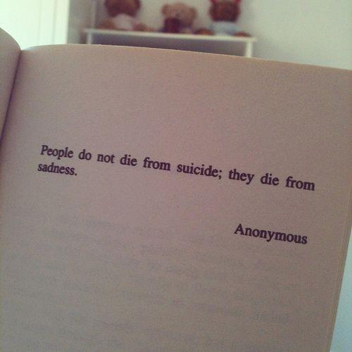 depression suicide quotes tumblr - photo #18