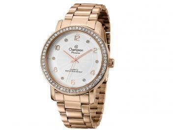 Relógio Champion Passion CN29249Z Feminino - Social Analógico Pulseira de Aço Prova d?Água