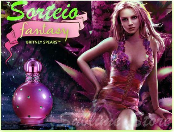 """#SORTEIO """"Quero ganhar de presente da @SublimePerfumes um perfume Fantasy Britney Spears  Participe Tbm!"""""""