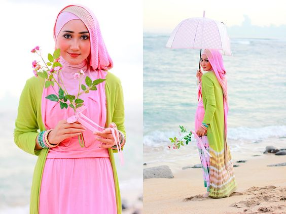The Merchant Daughter Dian Pelangi hijab: