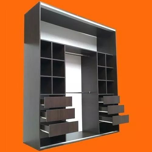 Placar 220x240x60,wengue,2cajoneras,manijon De Aluminio - $ 8.900,00