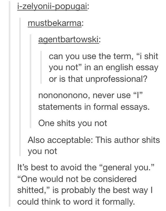 trust essays