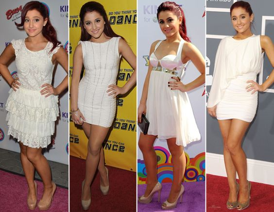 Ariana Grande, i'm likin' the dresses