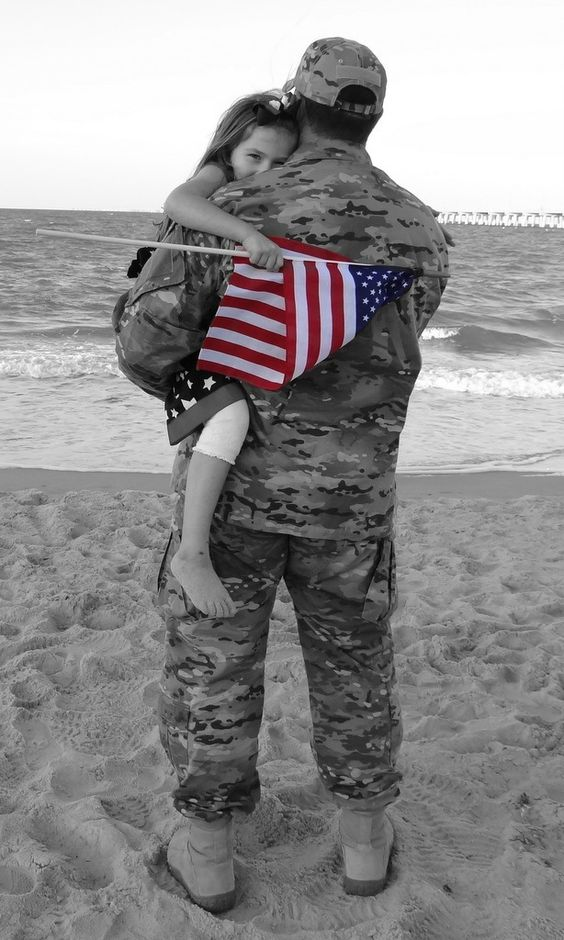 Military Family photo shoot, I love rhe pose, but ill skip the b