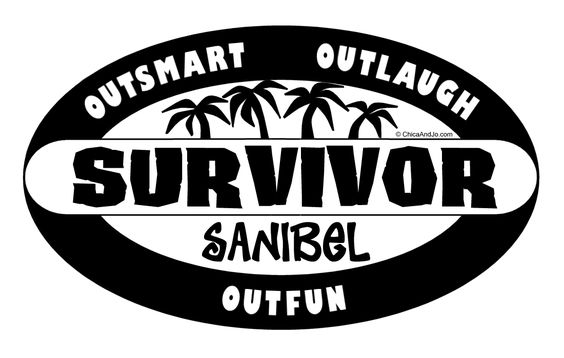 Make your own survivor logo 12th birthday party for Draw your own logo