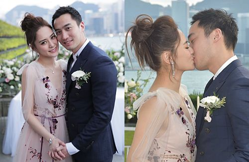 Celebrity Weddings Gillian Chung And Michael Lai Register Marriage In Hong Kong Celebrity Weddings Gillian Chung Celebrities