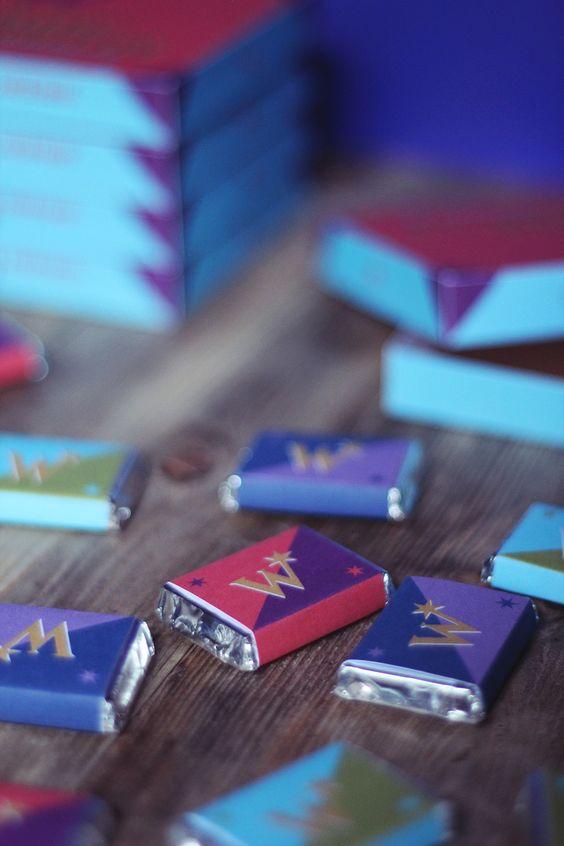 Weasleys' Wizard Wheezes package - packaging boutique Weasley Harry Potter
