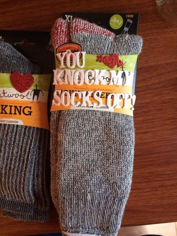 You knock my socks off, Valentine's Day