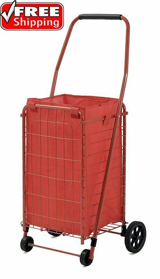 Sponsored Ebay Shopping Cart Grocery Laundry Jumbo Basket Travel