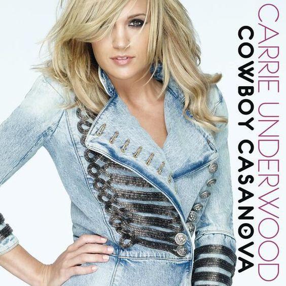 Carrie Underwood – Cowboy Casanova (single cover art)