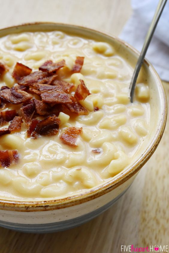 Macaroni & Cheese Soup