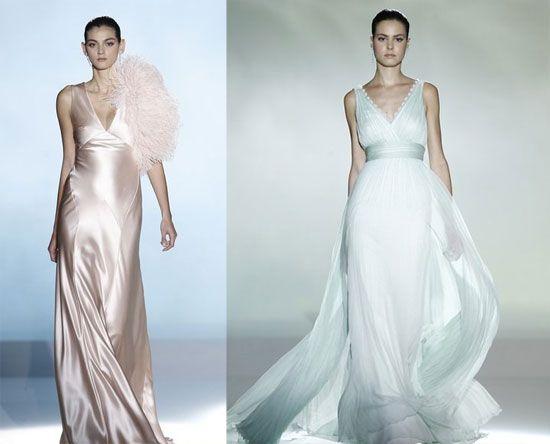 Rosa Clará vestidos de novia colores tendencias 2013