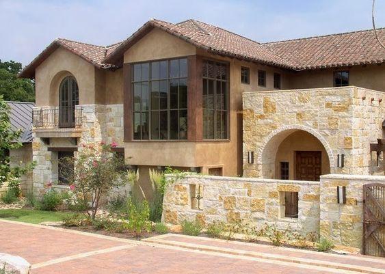fachadas de piedra fachadas de casas de piedra modernas On piedras para fachadas de casas modernas