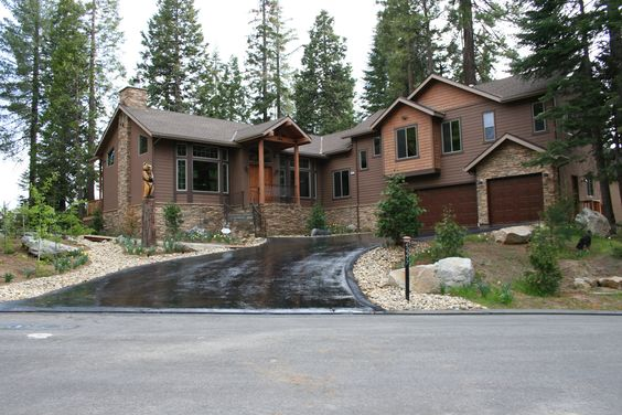 Cabin in Shaver Lake, Ca. Designed and built by Image Custom Homes