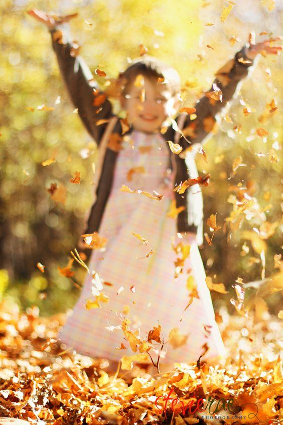 Raking & Jumping in Leaves: