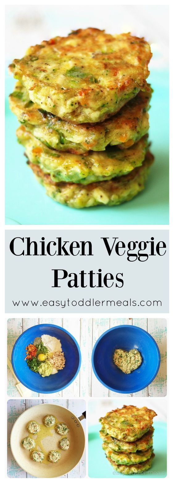 Packed with lots of veggies, but comes close to a chicken nugget!: