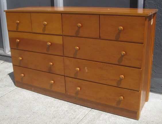 Adorable Large Dresser With 10 Drawer
