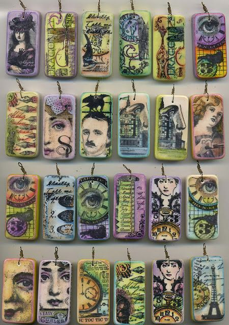 Domino art-this is so me and something that I've done too :) love it.