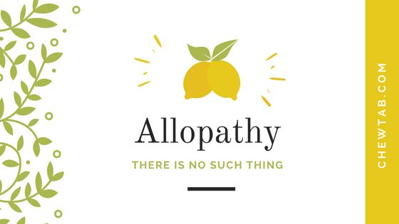 allopathic medication