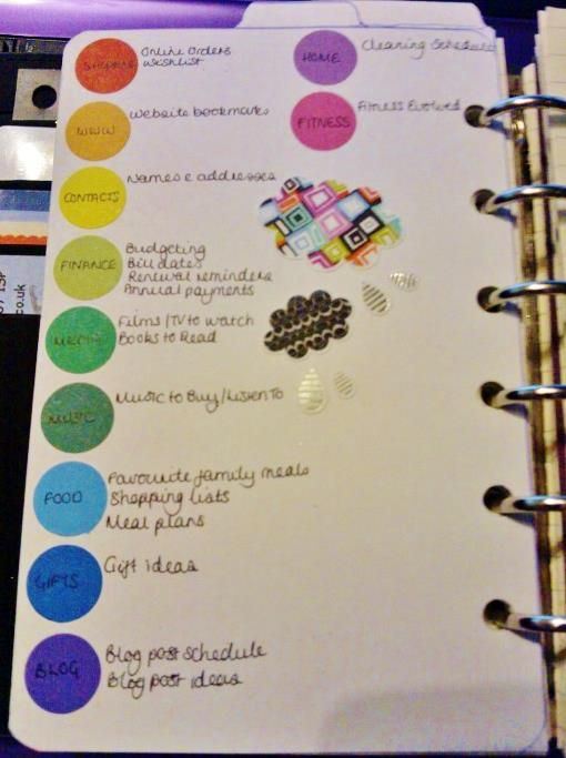 17 best images about planner journal help pictures of for Color coding planner
