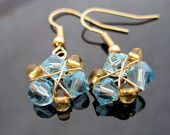Zora's Sapphire Earrings on Etsy