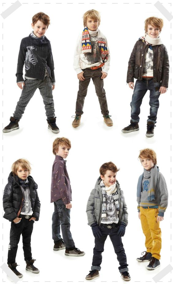 ROBERTO CAVALLI FASHION KIDS A W 13 BOY
