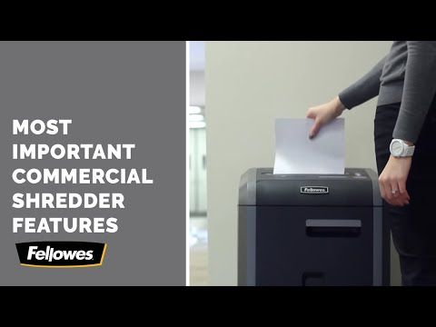 Large Heavy Duty Paper Shredders For