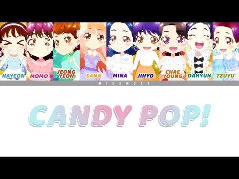 트와이스 Twice Candy Pop Colour Coded Eng Lyrics 日本語歌詞