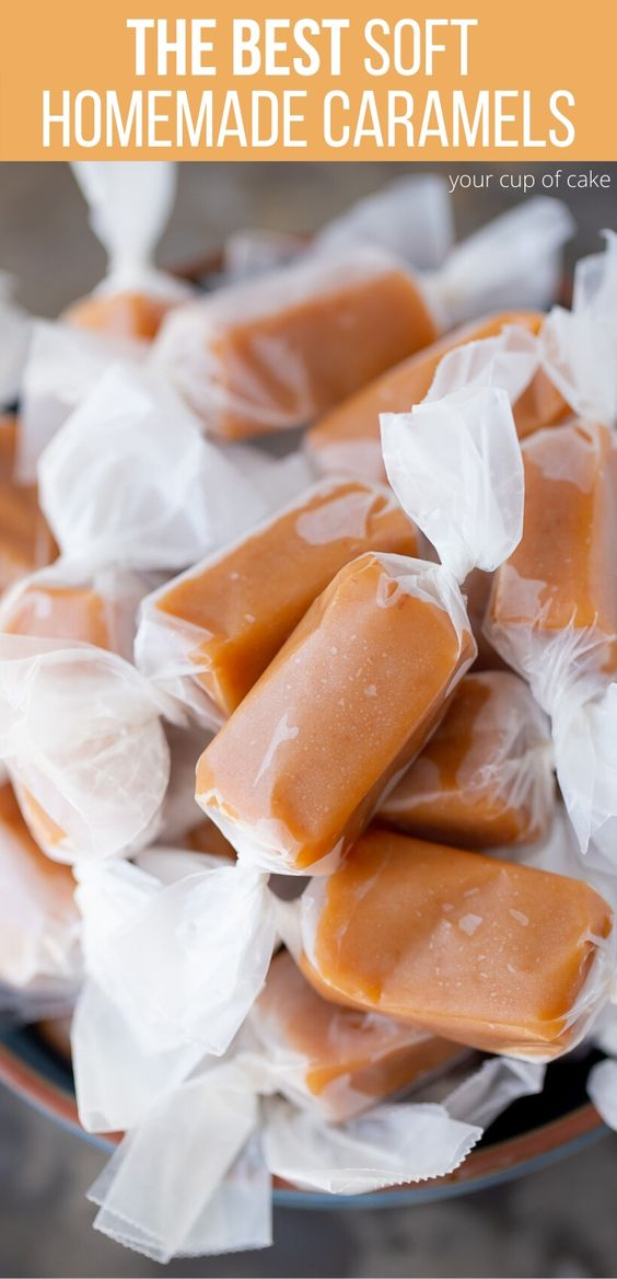 The BEST Soft Homemade Caramels