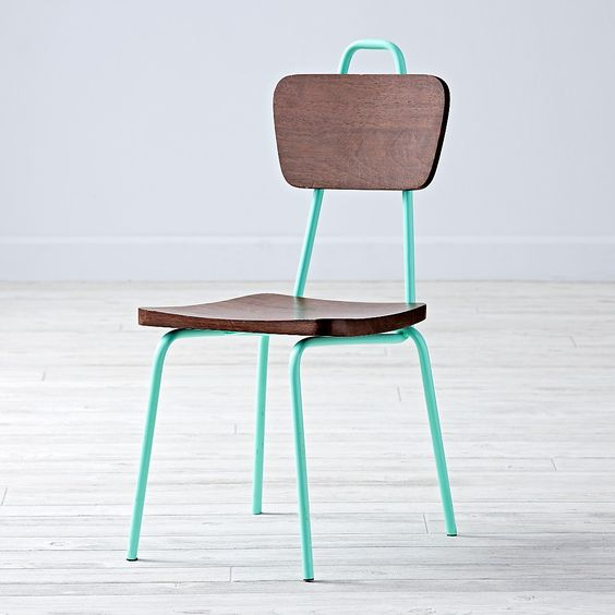 Kids chair from Land of Nod. So fun for a playroom!