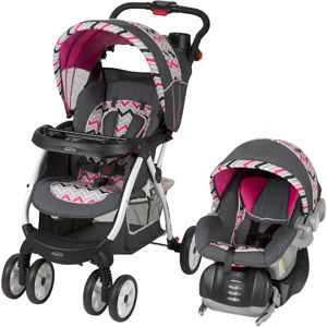 Baby Trend Expedition ELX Travel System Stroller – Pink Nikki ...
