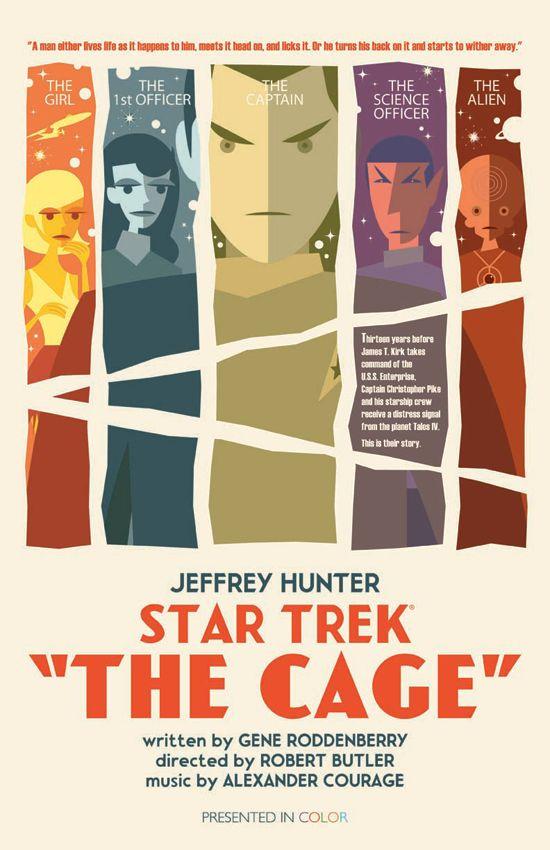 Star Trek Art Prints by Juan Ortiz
