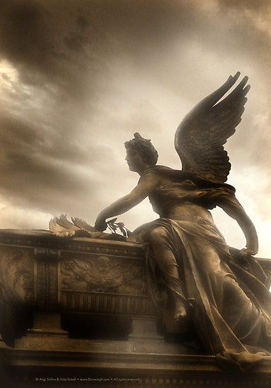 Guardian – Cemeteries and their Sentinels  Angels