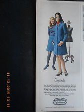 1968 THE Villager Collector Women'S Fashions Models Pantyhose Stockings Dress | eBay
