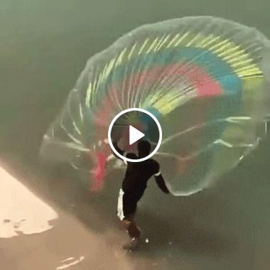 Como jogar uma rede no rio